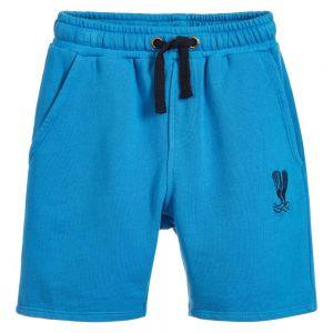 Billybandit Boy's Blue Jersey Shorts