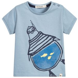 Billybandit Boy's Blue T-Shirt
