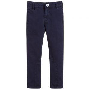 Billybandit Boy's Navy Blue Twill Trousers