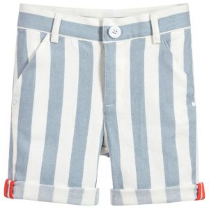 Billybandit Blue and White Shorts