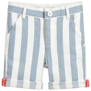 Billybandit Blue and White Shorts