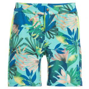 Billybandit Boys Green Viscose Shorts
