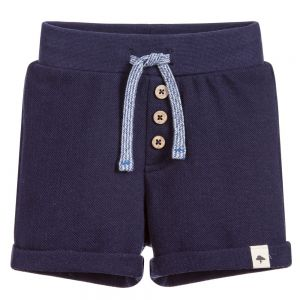 Billybandit Boy's Navy Piqué  Shorts