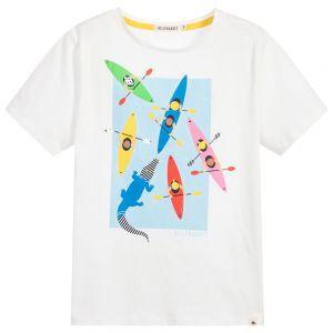 Billybandit Boy's Ivory Canoe T-Shirt