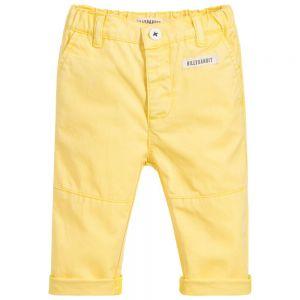 Billiybandit Boy's Yellow Twill Trousers