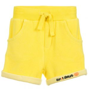 Billybandit Yellow Cotton Towelling Shorts