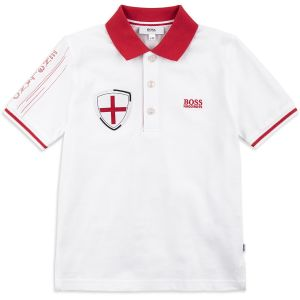 Boss Boy's Special Edition World Cup England Polo Shirt