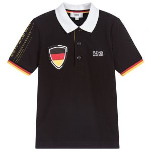 Boss Boy's Special Edition World Cup Germany Polo Top