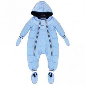 BOSS Baby Boys Blue Snowsuit Set