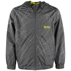 Boss Boy's Grey Windbreaker