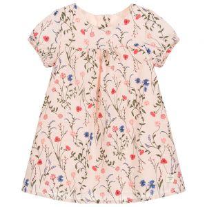 Carrément Beau Baby Girls Floral Cotton Dress Set