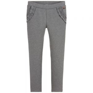 CARRÉMENT BEAU Girl's Grey Milano Jersey Trousers