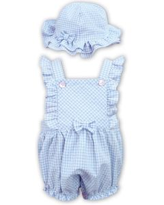 Sarah Louise Girls Dani Blue and White Shortie