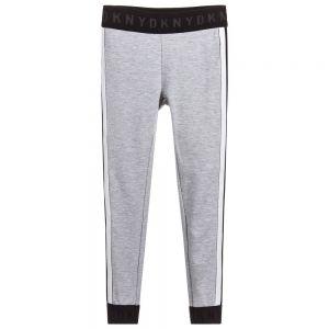 DKNY Girl's Grey Jersey Joggers