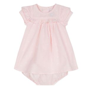 Absorba Baby Girl's Pink Cotton Dress