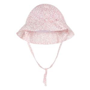 Absorba Baby Girl's Pink Liberty Print Hat