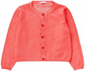 Il Gufo Girls  Pink Cotton Cardigan