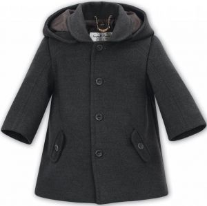 Sarah Louse 'boy's Dani' Grey Coat