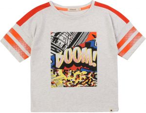 Billybandit Boys Grey Comic Cotton T-Shirt