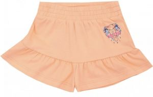Kenzo Kids Girls Orange Elephant Logo Shorts