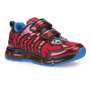 Geox Boy's Red Android Trainer