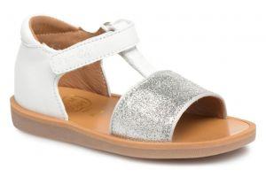 Pom D'Api White Poppy Tao Sandals