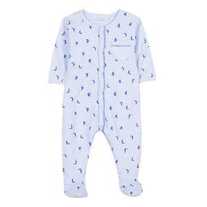 Absorba Baby Boy's Blue Boat Babygrow