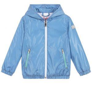 IL Gufo Boy's Blue Showerproof Jacket