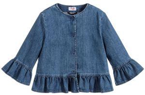 IL Gufo Girl's Denim Jacket