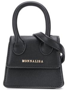 MONNALISA Girls Black Mini Bag