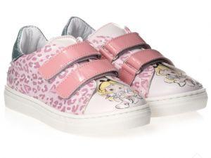 Monnalisa Girls Pink Disney Alice Trainers