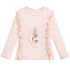 Billieblush Pink Cotton Seahorse Top