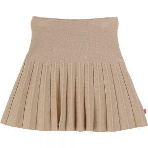 Billieblush Gold Sparkly Knitted Skirt