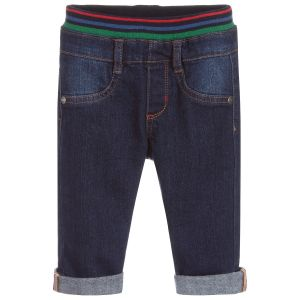 Paul Smith Junior Baby Boys Dark Blue Pull-On Jeans