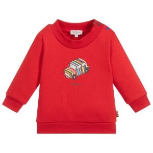 Paul Smith Junior Boys Red Cotton Sweatshirt