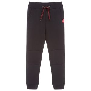 3Pommes Boys Navy Blue Race Game Joggers