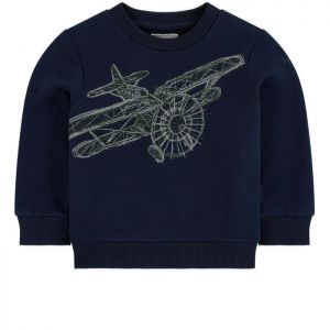 Il Gufo Boys Navy Embroidered Sweatshirt