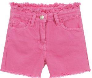 Monnalisa Pink Denim Bugs Bunny Shorts