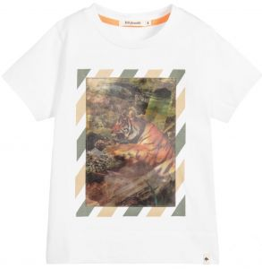 Billybandit Boys White Holographic T-Shirt