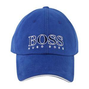 Boss Electric Blue Logo Cap