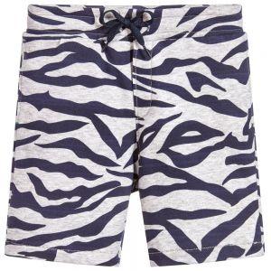 Kenzo Boy's Blue Tiger Striped Shorts