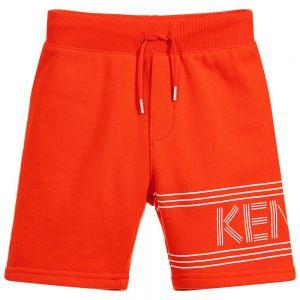 Kenzo Kids Boys Cotton Logo Shorts