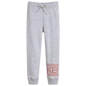 KENZO KIDS Girls Logo Cotton Jersey Joggers