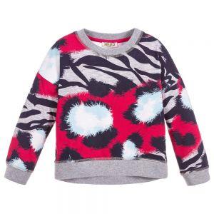 Kenzo Girl's Jungle Splash Sweatshirt
