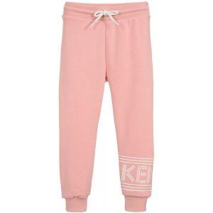 KENZO KIDS Girls Pink Logo Joggers