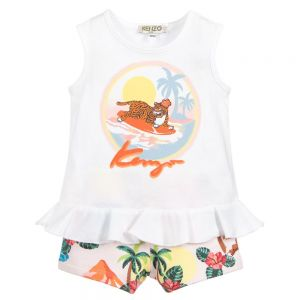 Kenzo Kids Girls TIGER 2 Piece Outfit