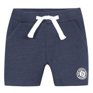 3Pommes Boys Navy Blue Cotton Shorts