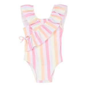 Lili Gaufrette Pink Multicolored Swimsuit