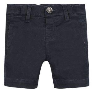 3Pommes Boys Navy Cotton Shorts