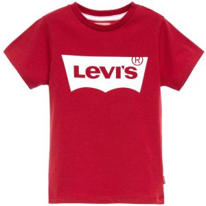 Levi's Boy's Red And White Logo T-Shirt